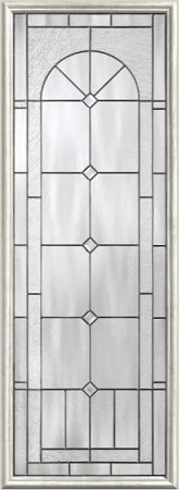 Therma-Tru Arden-Granite 8 x 47  Glass and Frame