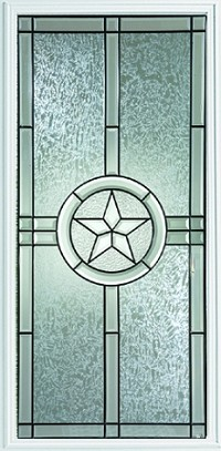 Western Reflections Radiant Star 22 x 48 Glass and Frame