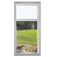 Universal 22 x 48 - 1 Lite Raise and Lower Blind Glass & White Frame