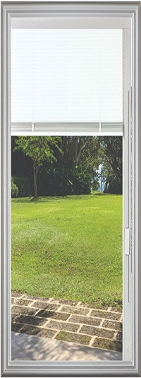 Universal 22 x 64 - Hurricane Impact Low E Raise & Lower Blind Glass & White Frame