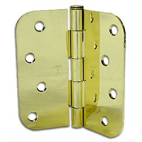 Taylor Perma Door 4 x 4 Bright Brass Hinges (Qty 3) (US3) (Post 1992)