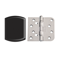 Therma-Tru 5/8 Inch Self Aligning Ball Bearing Black Nickel Hinge