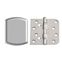 Therma-Tru 5/8 Inch Self Aligning Ball Bearing Stainless Steel Hinge