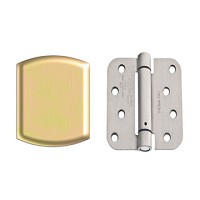 Therma-Tru 5/8 Inch Spring Loaded Zinc Dichromate Hinge