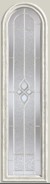 Therma Tru Concorde 8 X 36 Round Top Glass And Frame