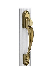 Trapp Classic 2100 Push Button Brass Handle Set