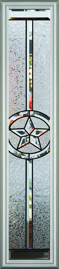 RSL Texas Star 8 x 48 Glass and Frame