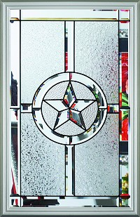 RSL Texas Star 22 x 36 Glass and Frame