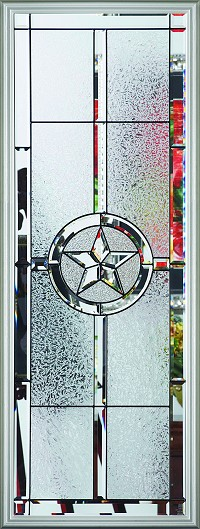 RSL Texas Star 22 x 64 Glass and Frame