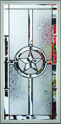 RSL Texas Star 22 x 48 Glass and Frame