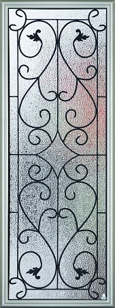 RSL Wisteria 22 x 80 Glass and Frame