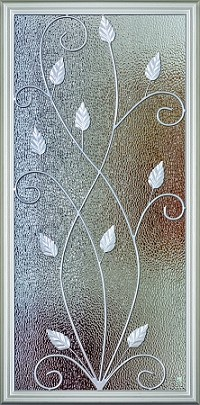RSL Willow 22 x 48 Glass and Frame
